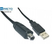 CABO USB A MACHO X USB MINI B MACHO 8P- 21038