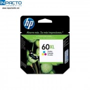 CARTUCHO HP 60XL (CC641WB) PRETO ORIGINAL