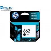 CARTUCHO HP 662 (CZ103AB) PRETO ORIGINAL
