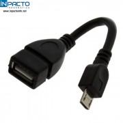 ADAPTADOR USB FEMEA  P/ MICRO USB MACHO