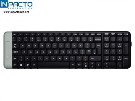 TECLADO WI-FI LOGITECH K230 PRETO