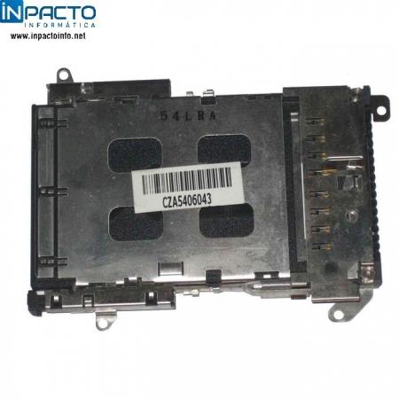CONECTOR PCMCIA COM TAMPA DELL D510