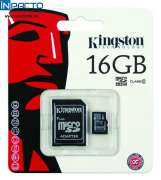 CARTÃO MEMORIA KINGSTON SDC4 16GB MICROSD/SD - In-Pacto Informática