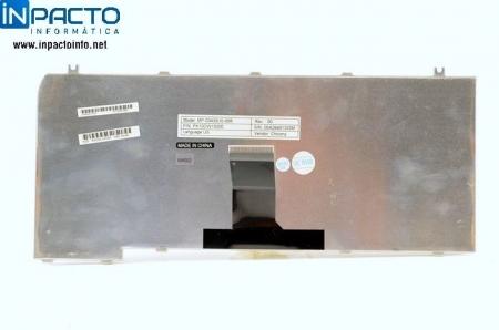 TECLADO NOTEBOOK TOSHIBA  M35X PRETO