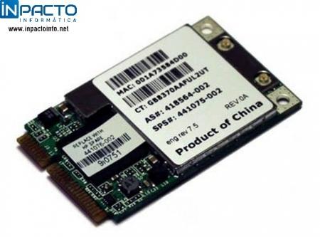 PLACA WIRELESS MINI PCI HP BROADCOM A/B/G