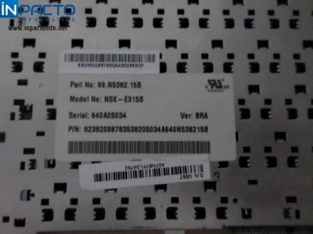 TECLADO NOTEBOOK ACER 99N538215B PRETO