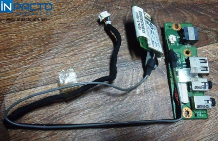 PLACA USB/AUDIO/MODEM NOTEBOOK POSITIVO V45