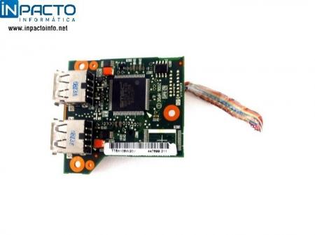 PLACA USB+LEITOR DE CARTÃO NB HP COMPAQ 6515B