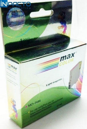 CARTUCHO MAXCOLOR COMP EPSON TO826 LIGHT MAG