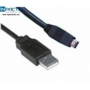 CABO USB A X USB MINI A 4PIN 1,8M (21036) - In-Pacto Informática