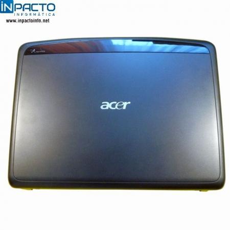 CARCAÇA TAMPA LCD ACER 5520 C/ WEBCAM