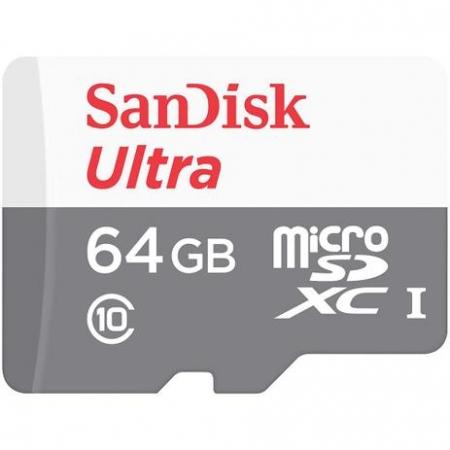 CARTÃO MEMORIA SANDISK SDSQUNR 64GB