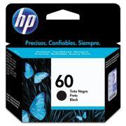 CARTUCHO HP 60 (CC640WB) PRETO ORIGINAL