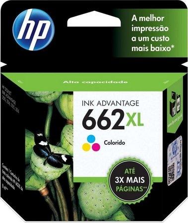 CARTUCHO HP 662XL (CZ106AB) COLOR ORIGINAL