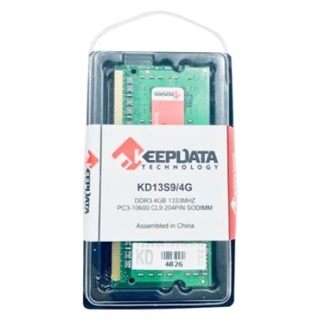 MEMORIA NOTEBOOK KEEPDATA 4GB DDR3 1333