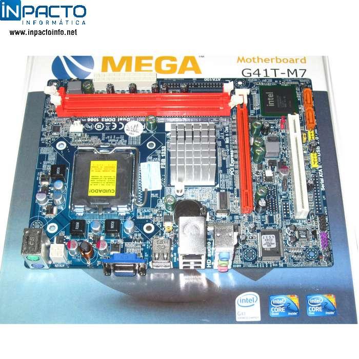 PLACA MÃE 775P MEGA G41T-M7 - In-Pacto Informática