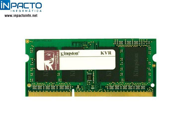 MEMORIA NOTEBOOK 4GB KINGSTON DDR3 1333 - In-Pacto Informática
