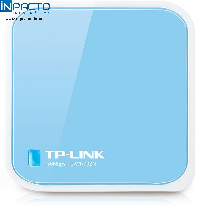 WIRELESS ROUTER TP-LINK 150MB TL-WR702N - In-Pacto Informática