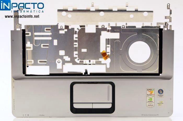 CARCAÇA BASE SUPERIOR COM TOUCHPAD HP DV6000