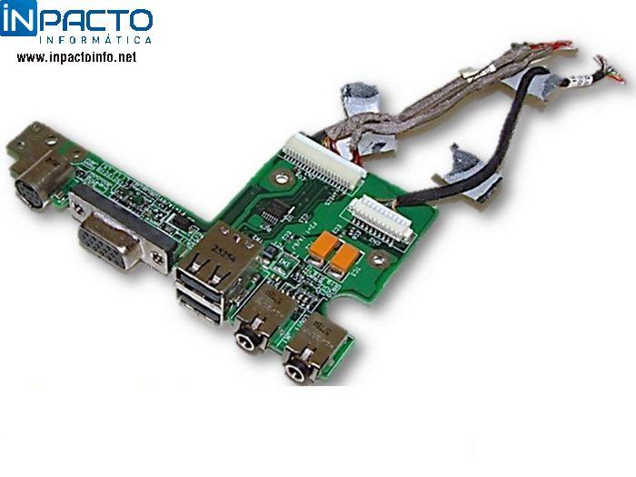 PLACA POWER BOARD HP DV4000 - In-Pacto Informática