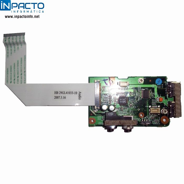 PLACA AUDIO E USB CCE NCV-D5H8 - In-Pacto Informática