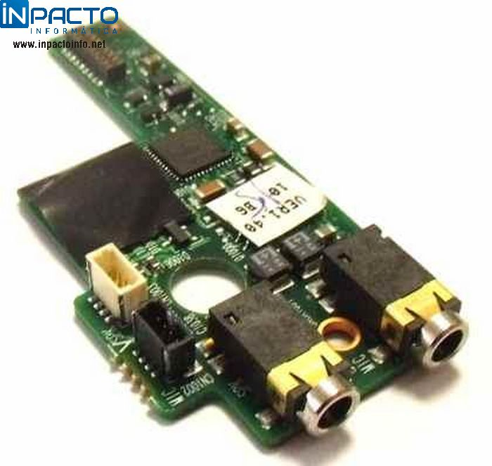 PLACA  AUDIO HP MINI 2133 - In-Pacto Informática