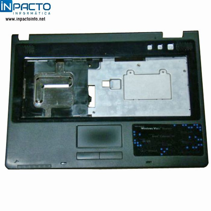CARCAÇA BASE SUPERIOR C/ TOUCH CCE NCV-D5H8 - In-Pacto Informática