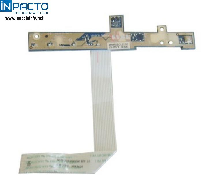 PLACA BOTÃO POWER  ACER 5315 - In-Pacto Informática