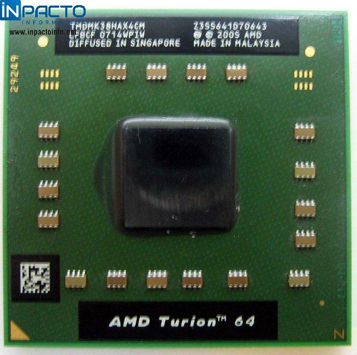 PROCESSADOR AMD TURION 64 2.2GHz - In-Pacto Informática
