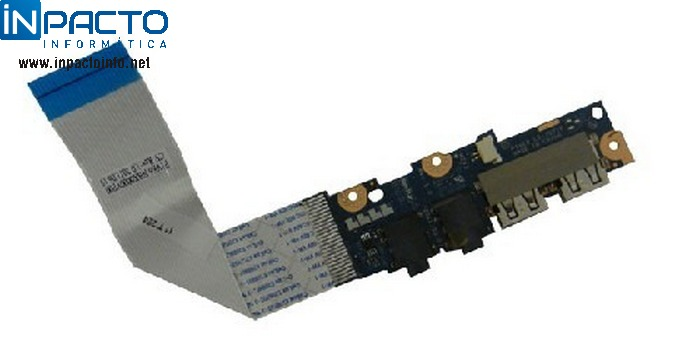 PLACA  AUDIO E USB ACER ONE 722 - In-Pacto Informática