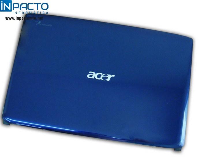CARCAÇA TAMPA LCD ACER ASPIRE 4540 AZUL - In-Pacto Informática