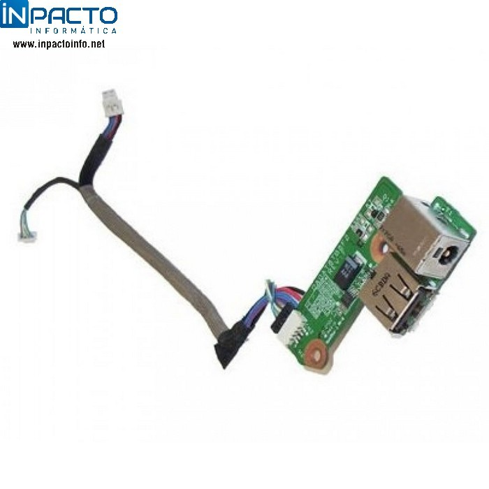 DC POWER JACK BOARD ARNÊS HP 431445-001 USB  - In-Pacto Informática