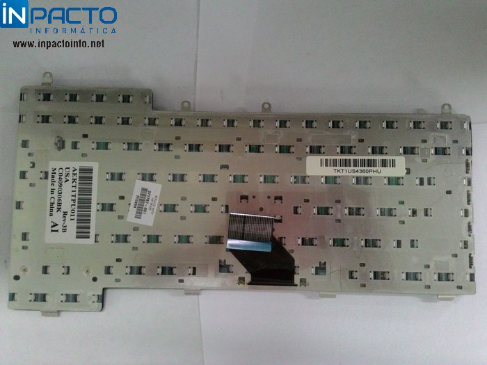 TECLADO NOTEBOOK HP ZE4000 ZE5000 AEKT1TPU011 - In-Pacto Informática