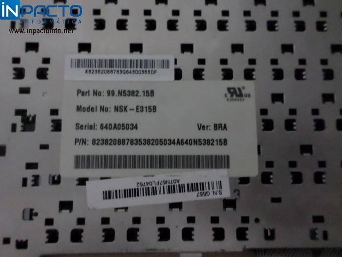 TECLADO NOTEBOOK ACER 99N538215B PRETO - In-Pacto Informática