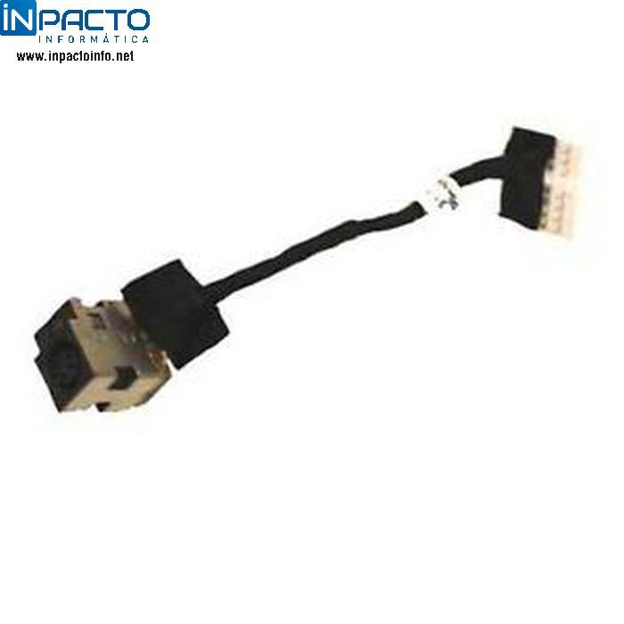PLUG CONECTOR FONTE ORIGINAL NOTEBOOK HP G42 - In-Pacto Informática