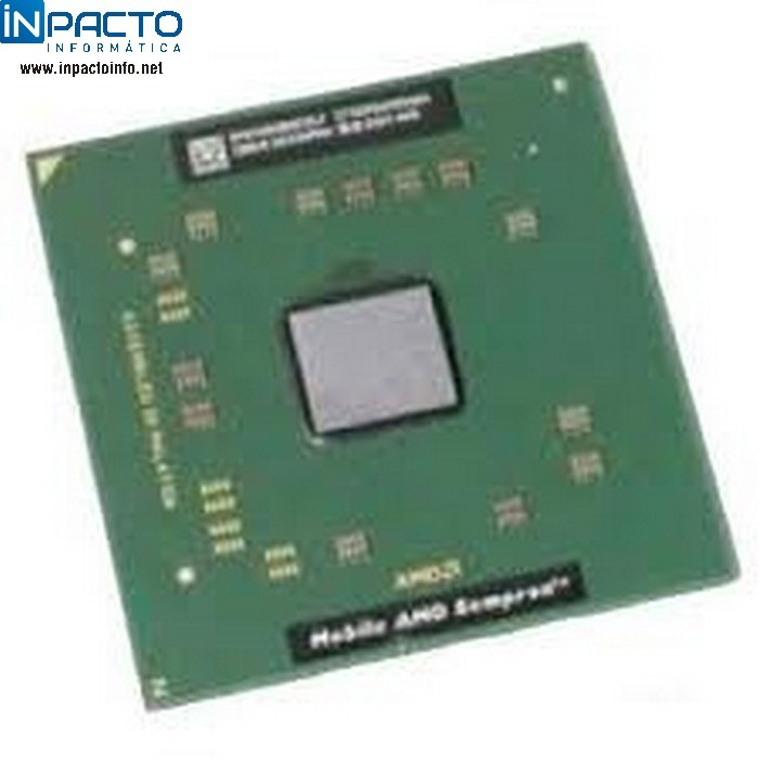PROCESSADOR NB AMD MOBILE SEMPRON 3400+ 1.80G - In-Pacto Informática