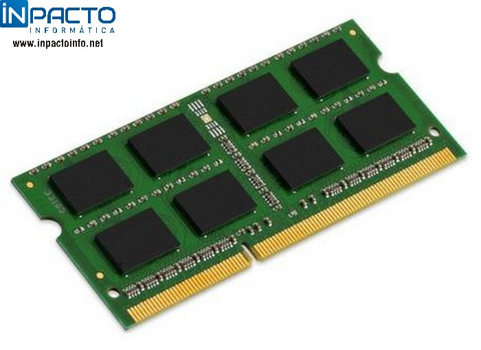MEMORIA NOTEBOOK 4GB KINGSTON DDR3 1600 - In-Pacto Informática