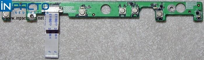PLACA POWER + FLAT HP COMPAQ PRESARIO V2000 - In-Pacto Informática