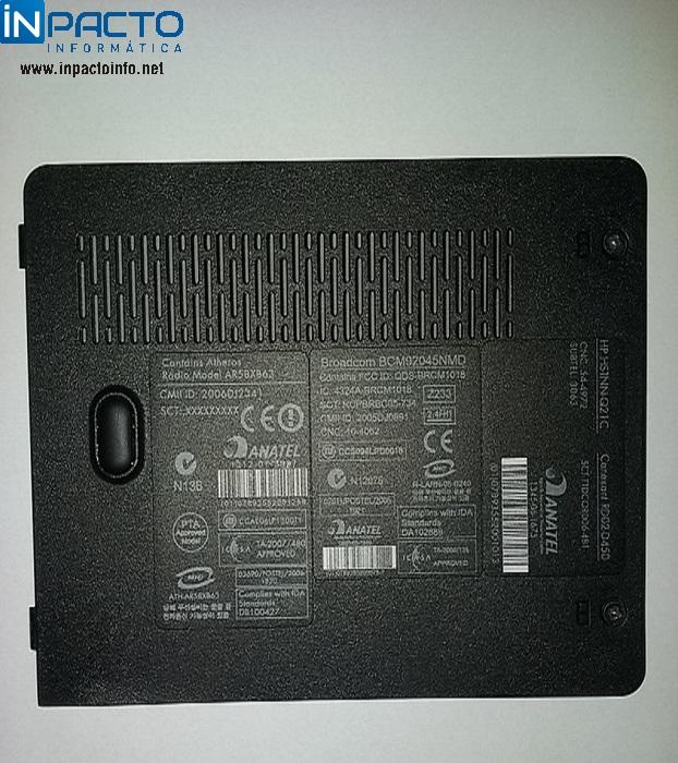 TAMPA MEMORIA NOTEBOOK HP DV6000 6750BR - In-Pacto Informática