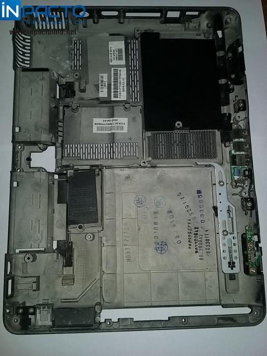 CARCAÇA INFERIOR NOTEBOOK HPTX2117CL /TX2000 - In-Pacto Informática