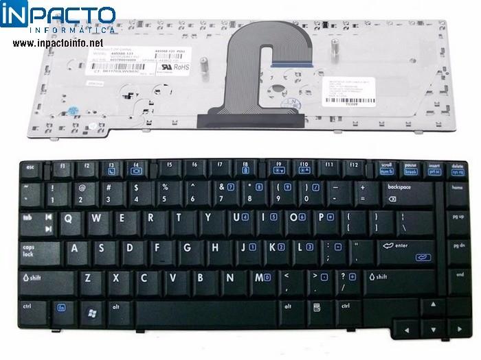 TECLADO NOTEBOOK HP COMPAQ 6515B - In-Pacto Informática