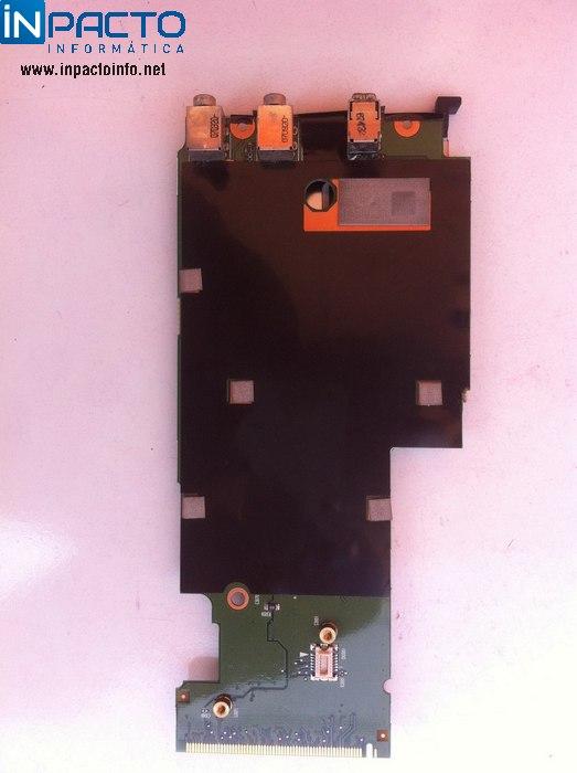 PLACA SOM + PCMCIA + MODEM NB HP COMPAQ 6515B - In-Pacto Informática
