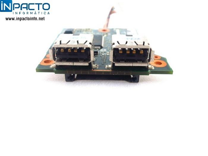 PLACA USB+LEITOR DE CARTÃO NB HP COMPAQ 6515B  - In-Pacto Informática