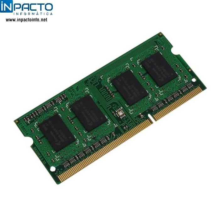 MEMORIA NOTEBOOK 4GB SMART DDR3L 1600 - In-Pacto Informática