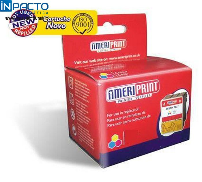 CARTUCHO AMERIPRINT COMP EPSON TO29 CL - In-Pacto Informática
