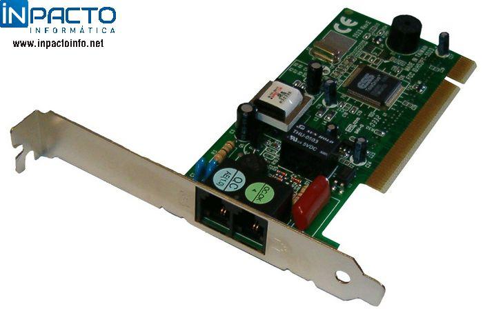 FAX/MODEM PCI 56K MOTOROLA - In-Pacto Informática