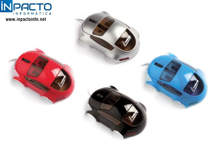 MOUSE OPTICO LEADERSHIP CAR PRETO USB - In-Pacto Informática