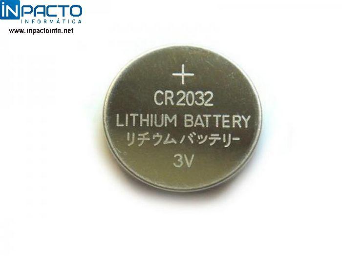 BATERIA CR-2032 3V - In-Pacto Informática