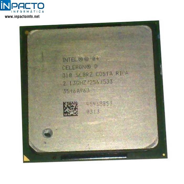 PROCESSADOR INTEL CELERON 2.13Ghz 478 (USADO) - In-Pacto Informática
