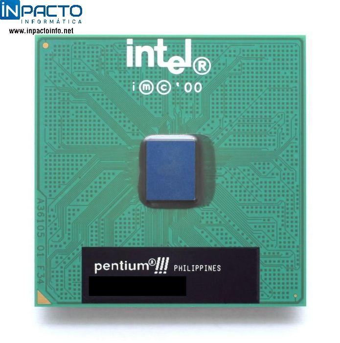 PROCESSADOR INTEL P3 667MHZ 133  - In-Pacto Informática